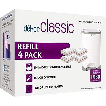 Dekor Plus Diaper Pail RefillsMost Economical Refill System2 Count