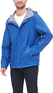 Tommy Hilfiger Men's Lightweight Breathable Waterproof Hooded Jacket
