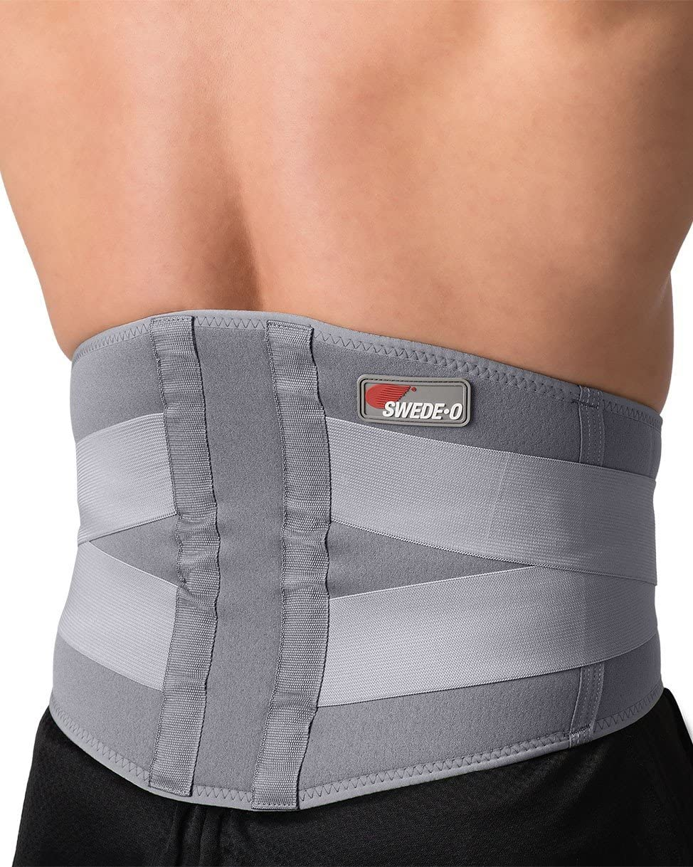 latest Swede-O Excellent Thermal Vent Lumbar Compression Breathable Hea Support