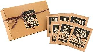 John's Ka'u coffee カウコーヒー ギフト セット ドリップバッグ 10g×6袋 贈り物 お土産 ハワイ 最高級 100% エクストラファンシー