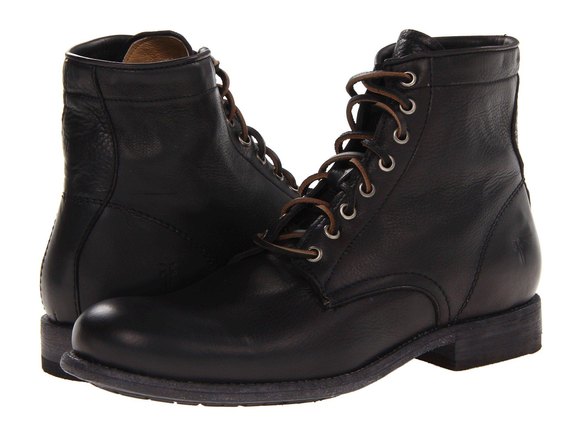 023a29ac27e Men s Distressed Black Shoes + FREE SHIPPING
