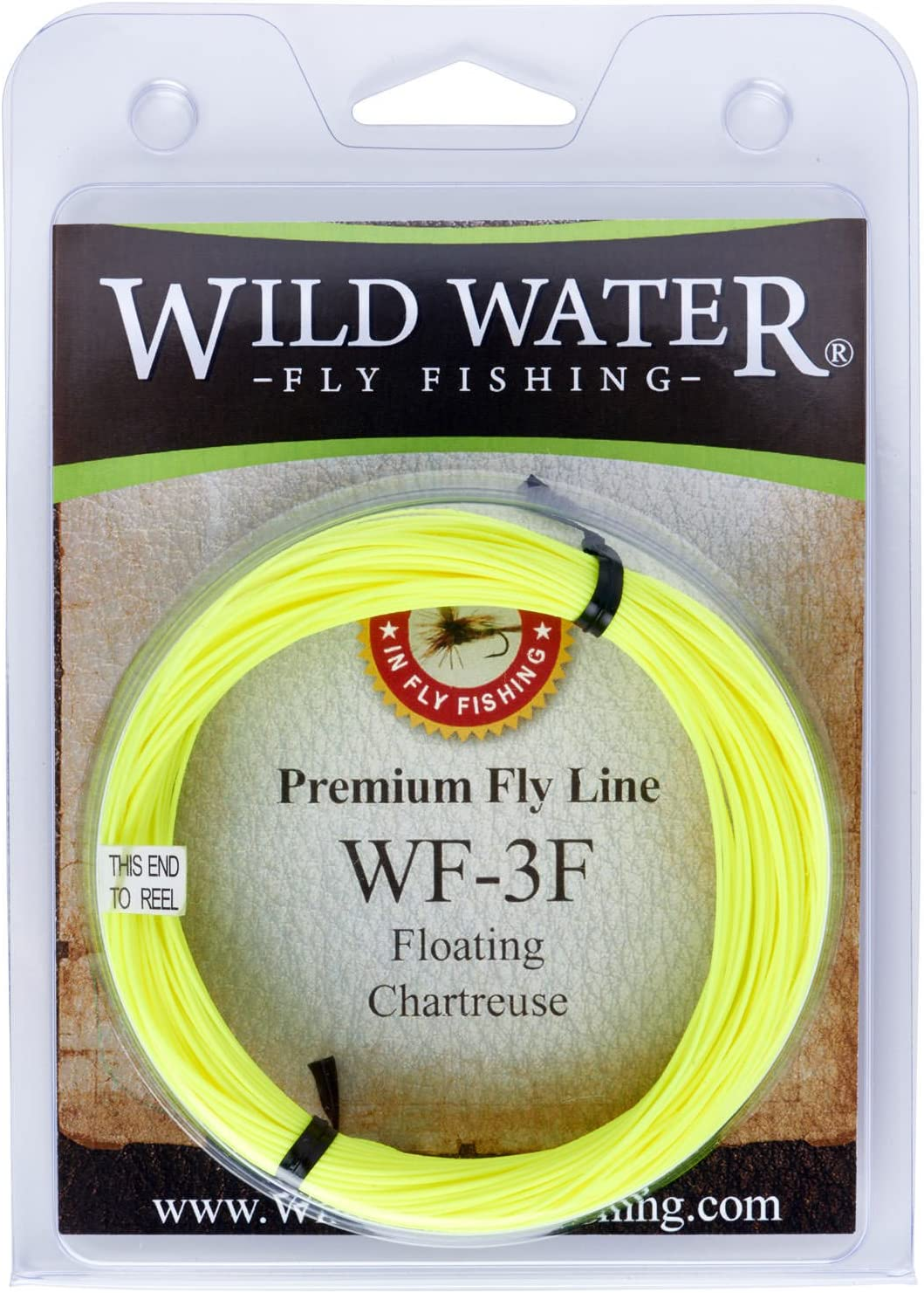 Wild Water Fly Fishing Weight Floating Max 69% OFF Forward Chartreu Limited time trial price 3-Weight