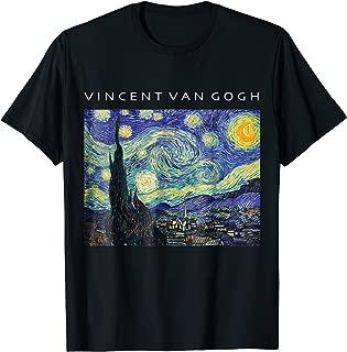 Vincent Van Gogh Starry Night T-Shirt Painting Art Shirt