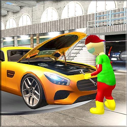 Stickman Car Garage Auto Workshop - Stickman Games