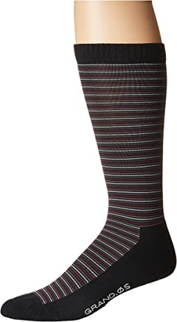 Cole Haan - Grand Multi Stripe Crew