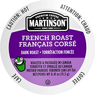 Martinson Single Serve Coffee Capsules, French Roast, 48 Count