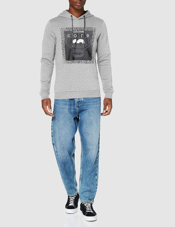 Jack /& Jones Jcojesper Sweat Hood Pullover para Hombre