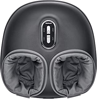 Nekteck Shiatsu Foot Massager Machine with Soothing Heat, Deep Kneading Therapy, Air Compression, Relieve Foot Pain and Improve Blood Circulation,Adjustable Intensity Relax for Home or Office Use