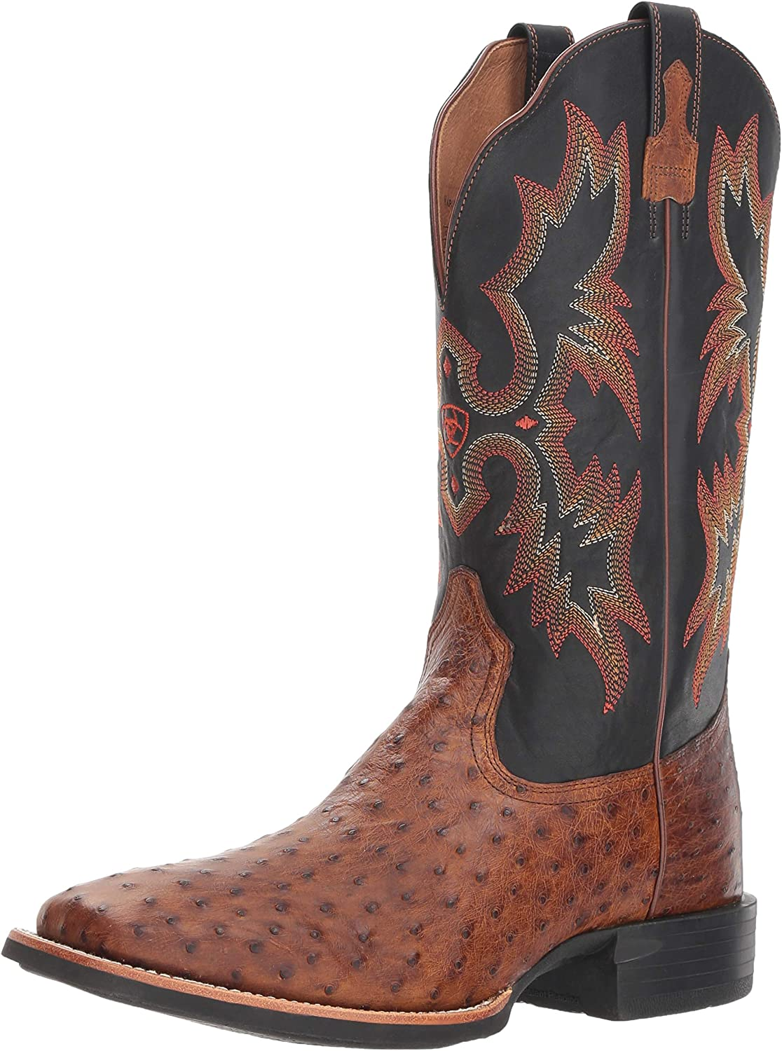 Ariat Men's Full-Quill Ostrich Free shipping Exotic Boot Max 43% OFF Wide Square Western T