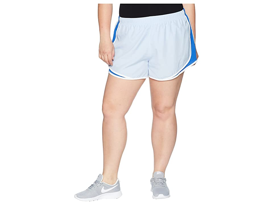 Nike Dry Tempo 3 Running Short (Size 1X-3X) (Royal Tint/Game Royal/White/Wolf Grey) Women