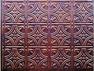 Mirroflex Backsplash Tile Fleur Moonstone Copper