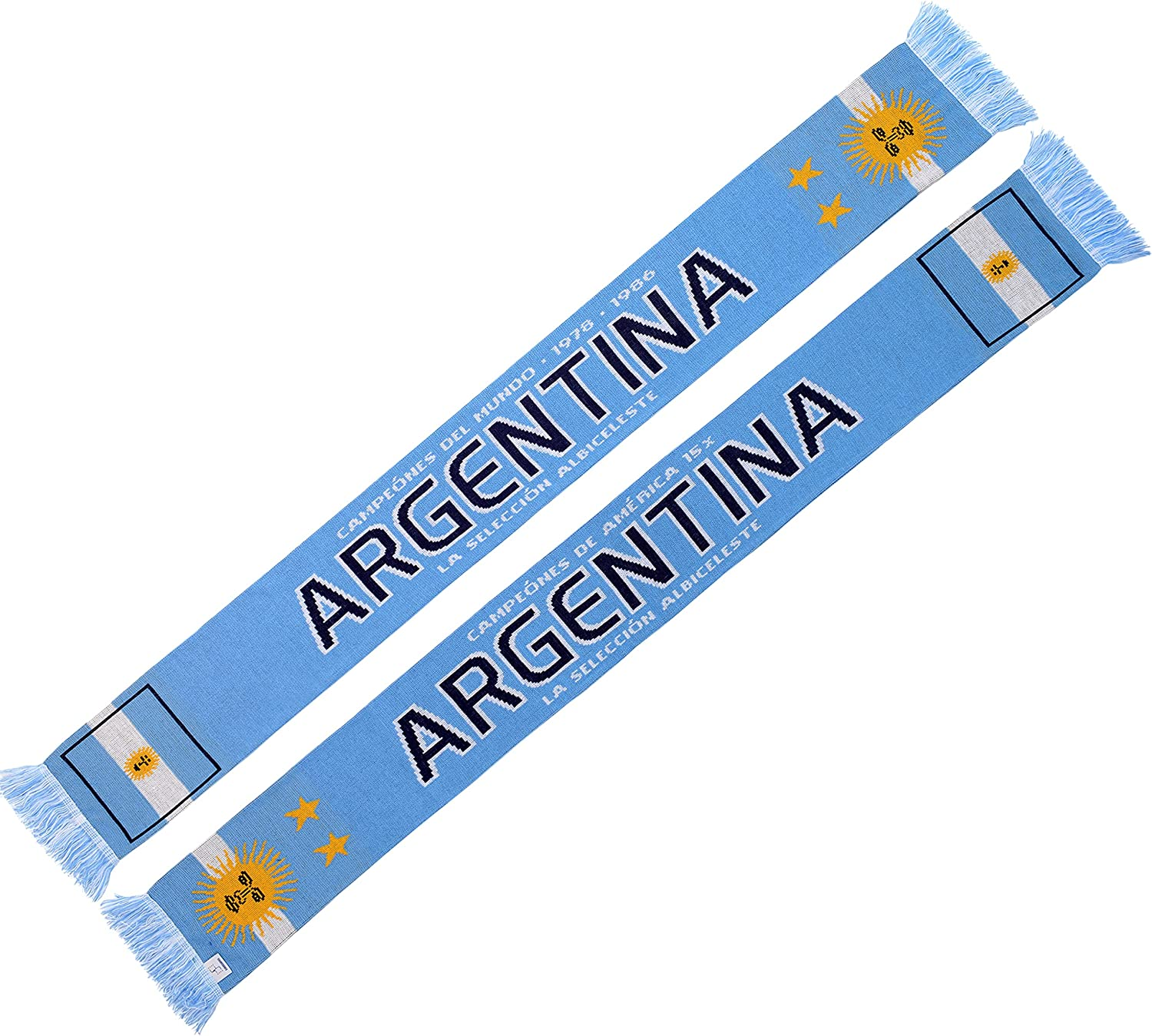 Max 61% OFF Direct stock discount Argentina Soccer Scarf Knit
