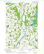 YellowMaps Browerville NE MN topo map, 1:24000 Scale, 7.5 X 7.5 Minute, Historical, 1966, Updated 1967, 27.23 x 21.53 in
