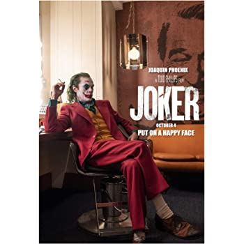 Joker Movie Poster 11x17 inches 2019 Joaquin Phoenix  awesome size for office