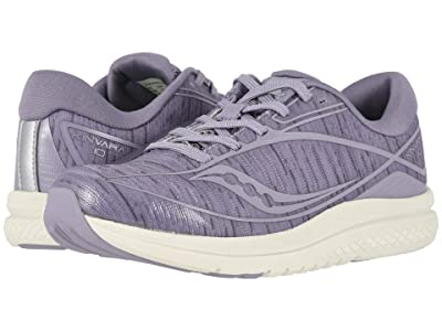 Saucony Kids Kinvara 10 (Little Kid/Big Kid) (Lilac) Girls Shoes