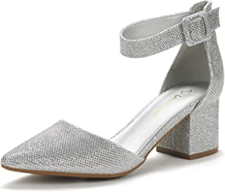 ce7159960d69 Amazon.com  Silver - Pumps   Shoes  Clothing