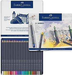 Faber‑Castell Goldfaber Color Pencils Tin Set, 24ct.