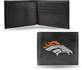 NFL Embroidered Leather Billfold Wallet