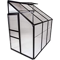 OGrow OGAL-46A Gardening Aluminum Greenhouse (Clear)