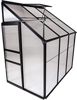OGrow OGAL-46A, Gardening Aluminum Greenhouse, Clear