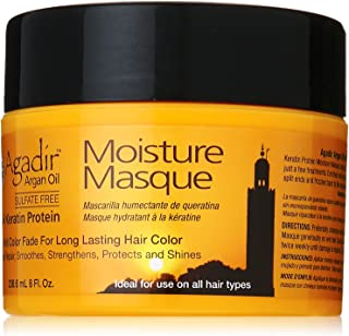 Agadir Argan Oil Moisture Masque for Unisex, 8 Ounce