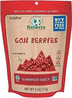 Natierra Himalania Organic Goji Berries, 4 Oz