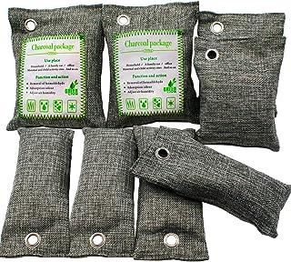 ENVEL Luftrenarpåse, bambu kol natur frisk luftrenare väska naturlig luftfräschare påsar, aktiverad kol luktborttagare frä...