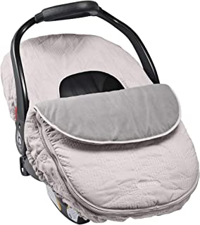 JJ Cole Car Seat Cover, Grey Herringbone