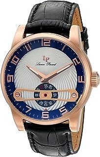 [ルシアン ピカール]Lucien Piccard 腕時計 'Bosphorus' Quartz Stainless Steel and Leather LP-40046-RG-03-SC メンズ [並行輸入品]