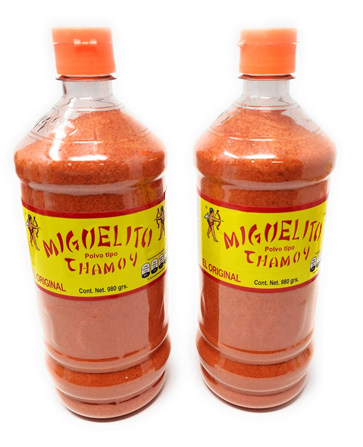 2 X Miguelito Chamoy Chilito Chili Powder cheap Mexican Polvo Candy Opening large release sale