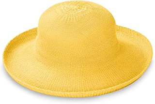 Wallaroo Hat Company Women's Victoria Sun Hat – Ultra-Lightweight, Packable, Modern Style, Designed in Australia.