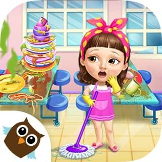 games clean up school