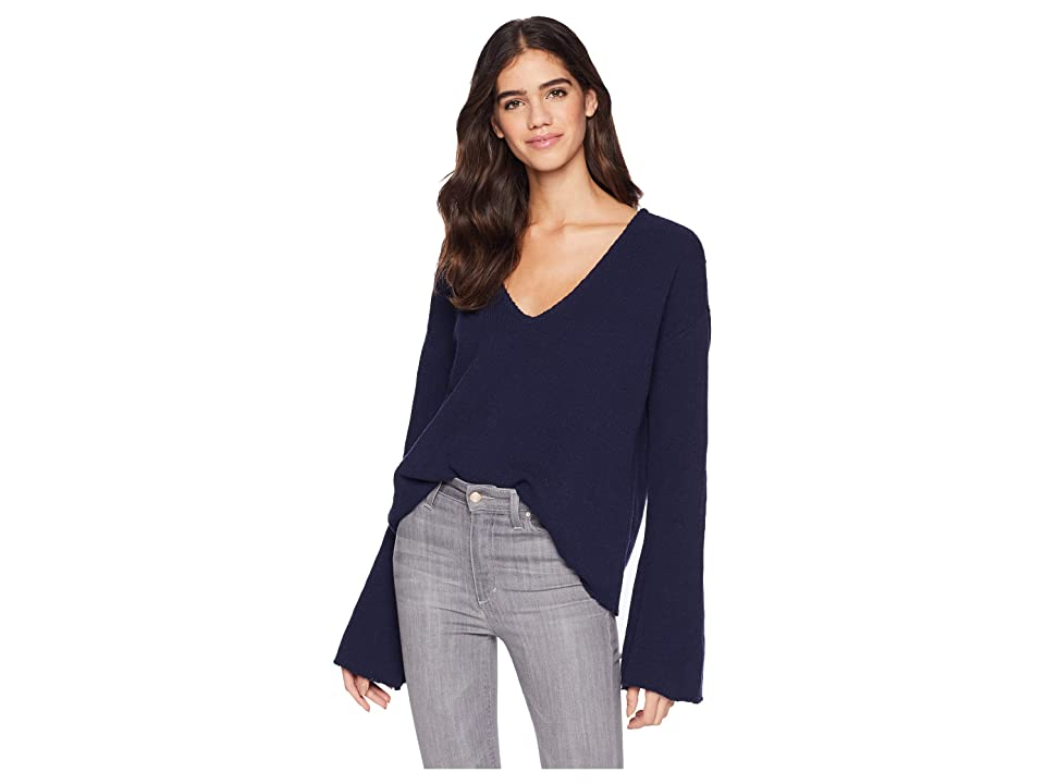 Amuse Society After Sundown Sweater (Dark Navy) Women