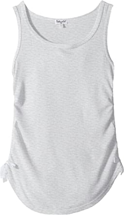 Side Tie Rib Tank Top (Big Kids)