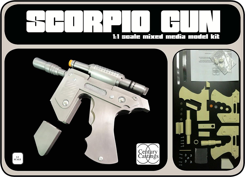 Blakes 7 clip gun model kit scorpio liberator retro scifi science fiction cosplay prop