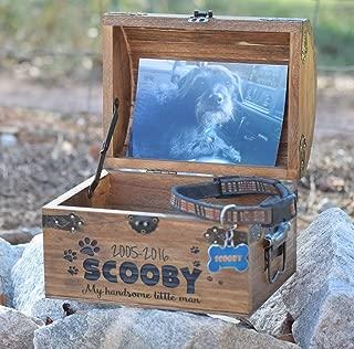 Pet Memory Box - Pet Keepsake Box - Memorial Box - In Memory - Sympathy Gift - Pet Memorial Pet Urn - Personalized Pet Urn - Pet Memory Chest