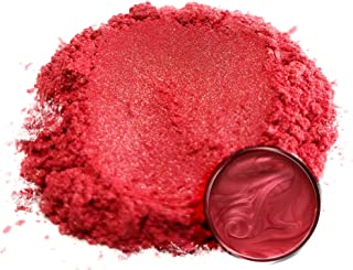 """Eye Candy Mica Powder Pigment """"Red Rose"""" (25g) Multipurpose DIY Arts and Crafts Additive 