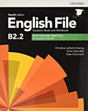 English File 4th Edition B2.2. Student's Book and Workbook with Key Pack (English File Fourth Edition)