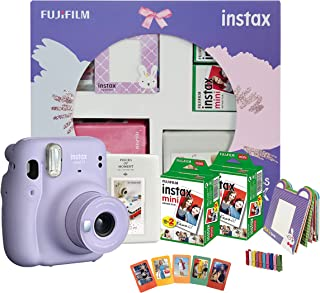 Fujifilm Instax Mini 11 Instant Camera Happiness Box Lilac Purple