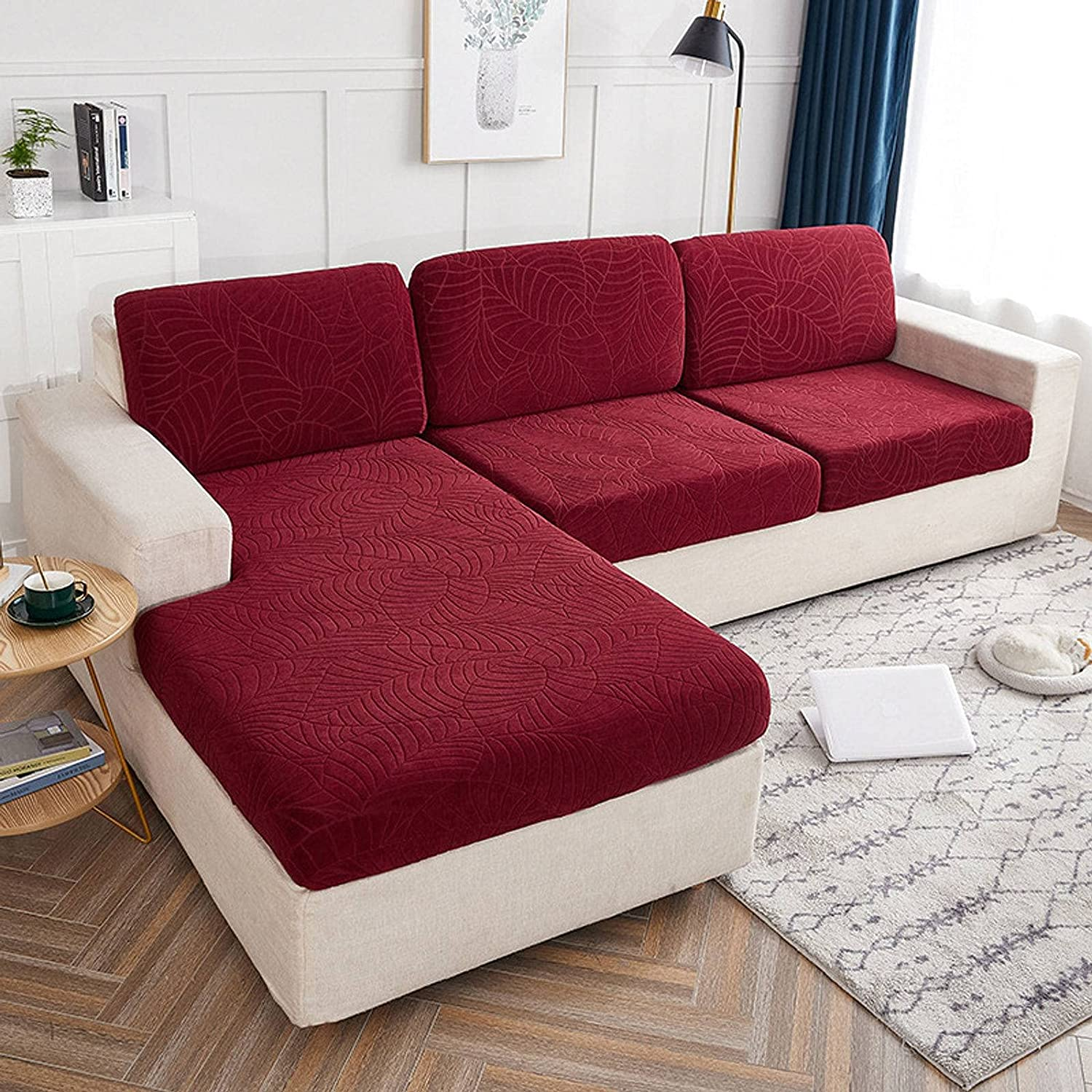 Couch Cushion Covers Elastic Sofa discount 5 popular Cover Relief Lea Seat