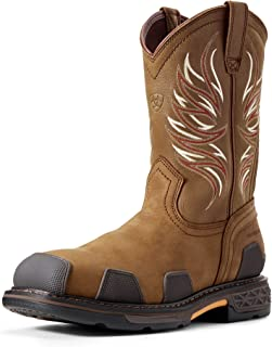 Men's Overdrive Wide Square Toe Composite Toe Work Boot