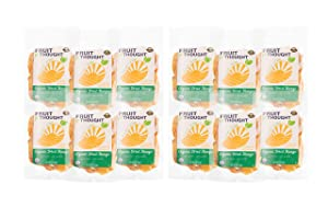 Fruit for Thought Dried Fruit (Organic Dried Mango, 1 Ounce (Pack of 12))