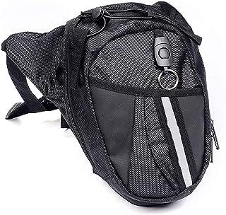 Fansport Bolso para Piernas, Fanny Waist Pack Carreras de Motos Cintura Bolso de Cintura para IR de Excursión