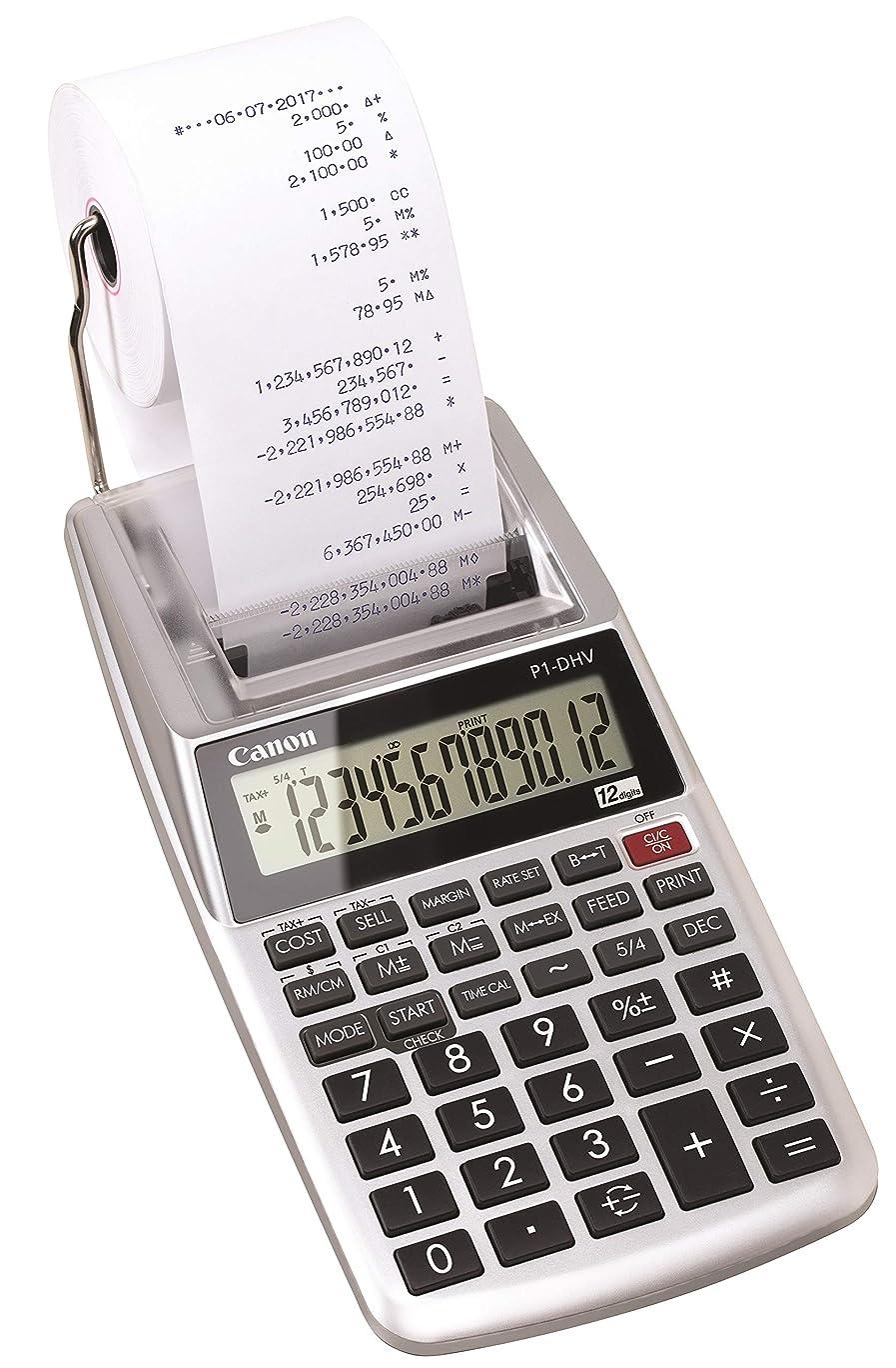絶対にアンププランテーションCanon プリンタ電卓 P1-DHV-3 算式タイプ
