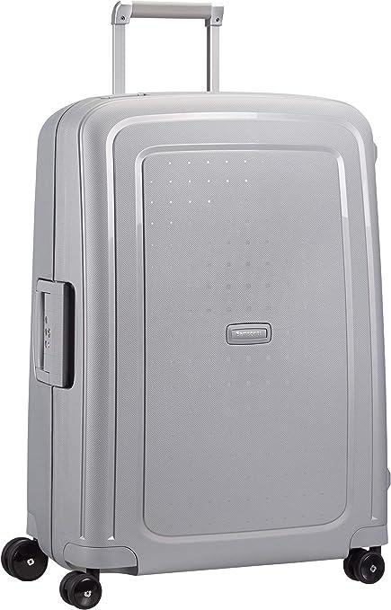 Imagen deSamsonite S'Cure Spinner - Maleta de equipaje, M (69 cm - 79 L), Plata (Silver)