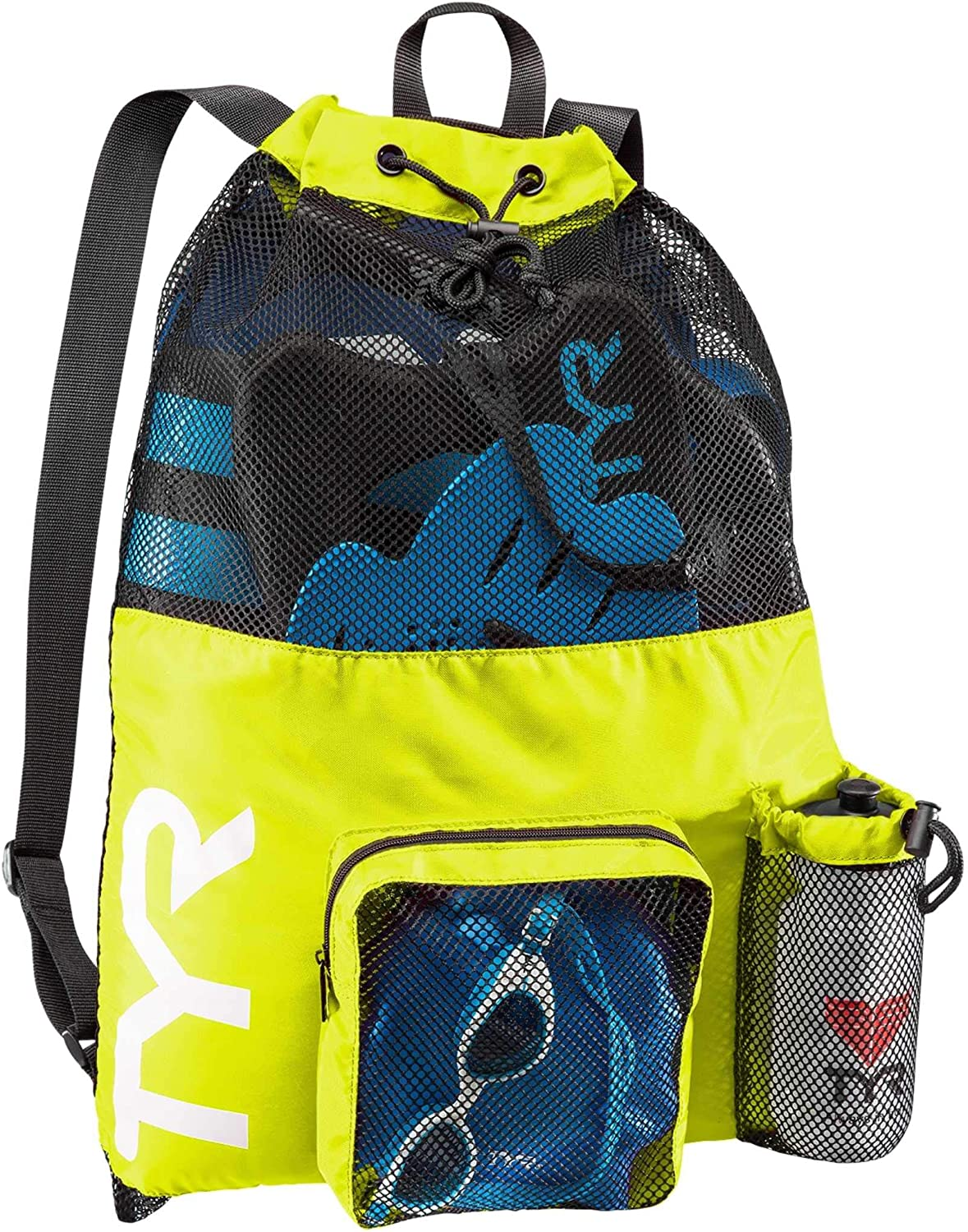 TYR low-pricing Big Mesh Mummy Backpack For Gym Swimming Max 68% OFF G and Wet Workout