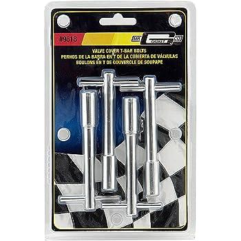 Mr Gasket Chrome T-Bar Wing Blts 5//16-18