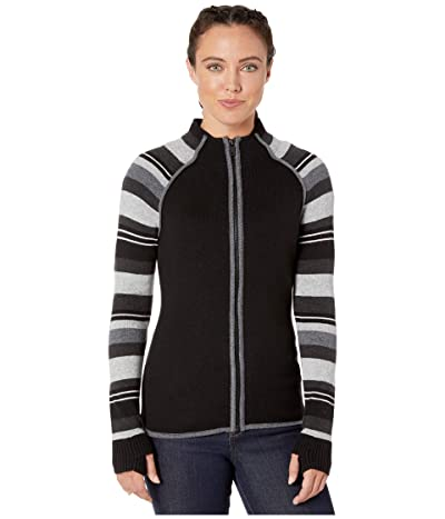Smartwool Dacono Ski Full Zip Sweater (Black) Women