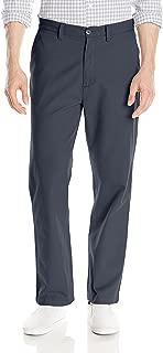 Men's Twill Flat-Front Pant