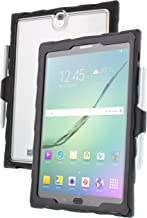Gumdrop Cases DropTech Protection Case for Samsung Galaxy Tab S3, Clear, Shock Absorbing Custom Molded Case with Screen Protection & Port Covers